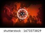 coronavirus disease covid 19... | Shutterstock .eps vector #1673373829
