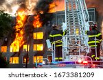American Firefighters On The...