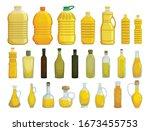 sunflower oil isolated vector...   Shutterstock .eps vector #1673455753