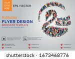 poster and flyer design with... | Shutterstock .eps vector #1673468776