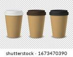 vector 3d realistic disposable...   Shutterstock .eps vector #1673470390