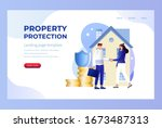 property insurance vector...