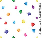 vector seamless pattern of... | Shutterstock .eps vector #1673499076