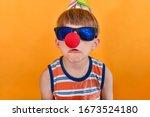 Crazy Clown In Sunglasses...