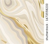 beige and gold marble... | Shutterstock .eps vector #1673558233