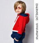 Cool Boy In Aviator Sunglasses...