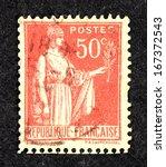 France   Circa 1921  Stamp...