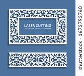 vector rectangle frame and...   Shutterstock .eps vector #1673793760