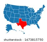 texture texas state icon vector | Shutterstock .eps vector #1673815750