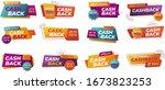 modern banner design with a set ... | Shutterstock .eps vector #1673823253