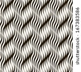 seamless pattern with braids.... | Shutterstock .eps vector #167383586