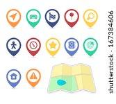 location ui design elements of...