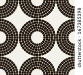 vector seamless pattern. modern ...   Shutterstock .eps vector #167385398