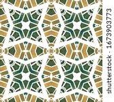 watercolor tribal geometric... | Shutterstock . vector #1673903773