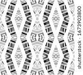 geometric watercolor african... | Shutterstock . vector #1673903800
