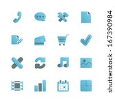 e commerce icons set for web...