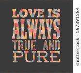 love design over gray ...   Shutterstock .eps vector #167391284