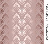 elegant art deco gold lattice.... | Shutterstock .eps vector #1673914459