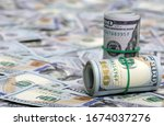 Money Background Of  Dollar...