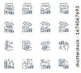 tax return service  refund... | Shutterstock .eps vector #1674067693