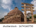 Sanchi Stupa Is A Buddhist...