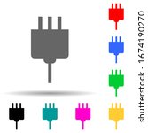 electric outlet multi color...
