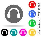 headphones in a circle multi...
