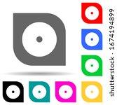 hard disc multi color style...