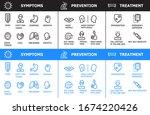corona virus info graphics... | Shutterstock .eps vector #1674220426