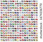 all national waving flags from... | Shutterstock .eps vector #1674236770