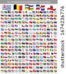 all national waving flags from... | Shutterstock .eps vector #1674236776