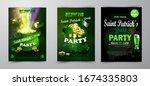 st. patrick s day poster.... | Shutterstock .eps vector #1674335803