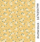 cute floral pattern in the... | Shutterstock .eps vector #1674354799