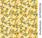 vector seamless pattern. pretty ... | Shutterstock .eps vector #1674420136