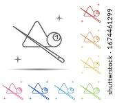 Snooker  Sport Multi Color Icon....