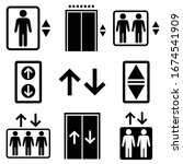 Elevator Set Icon  Logo...