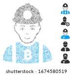 dash mosaic based on bitcoin... | Shutterstock .eps vector #1674580519