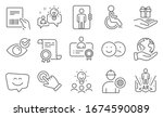 set of people icons  such as... | Shutterstock .eps vector #1674590089