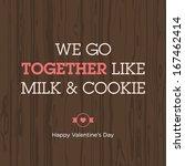 Valentines Day Card. Love...
