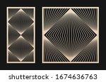 laser cut panel. vector...   Shutterstock .eps vector #1674636763