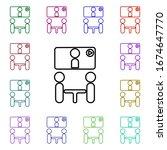 online presentation multi color ...