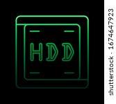 hard disc nolan icon. simple...