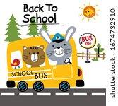 back to school school bus funny ...