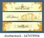 website header or banner set... | Shutterstock .eps vector #167475956