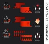 corona covid 19 virus design...   Shutterstock .eps vector #1674771970