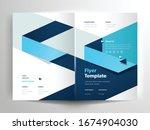 vector flyer brochure layout... | Shutterstock .eps vector #1674904030