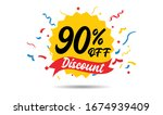 sale discount icons. special... | Shutterstock .eps vector #1674939409