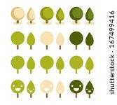 green life pattern | Shutterstock .eps vector #167499416