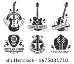 Guitar Shop Badges. Custom...