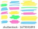 Color Highlight Marker Lines....